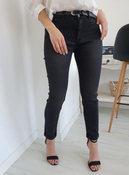 Spodnie jeans 4364 czarny...