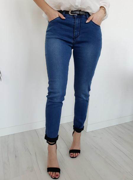 Spodnie jeans 4364 size +