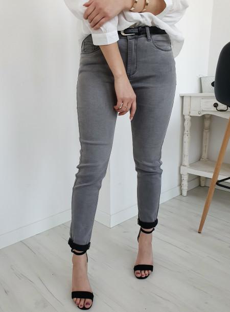 Spodnie jeans 4364 szary...