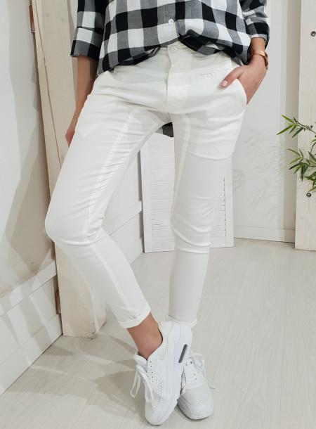 Spodnie 7019 biały