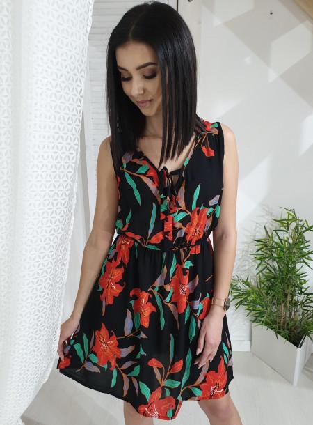 Sukienka 837 czarny