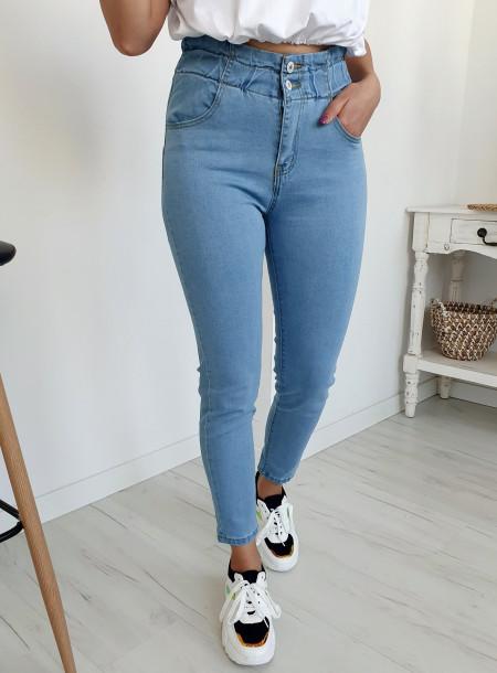 Spodnie jeans 8612