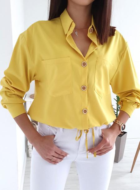 Koszula QM85 żółty