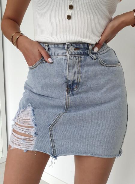Spódnica jeans 8708