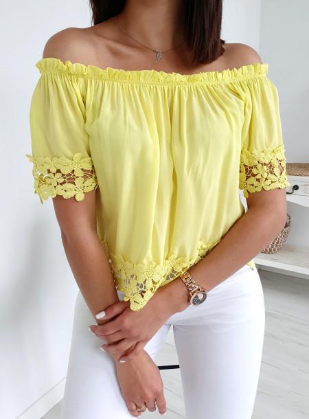 Bluzka 879 żółty