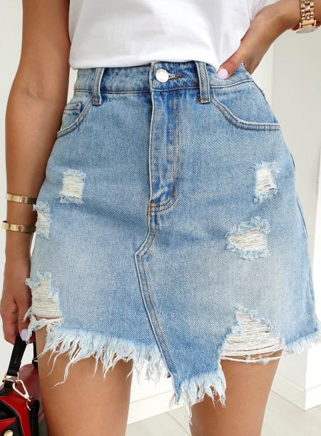 Spódnica jeans 6685