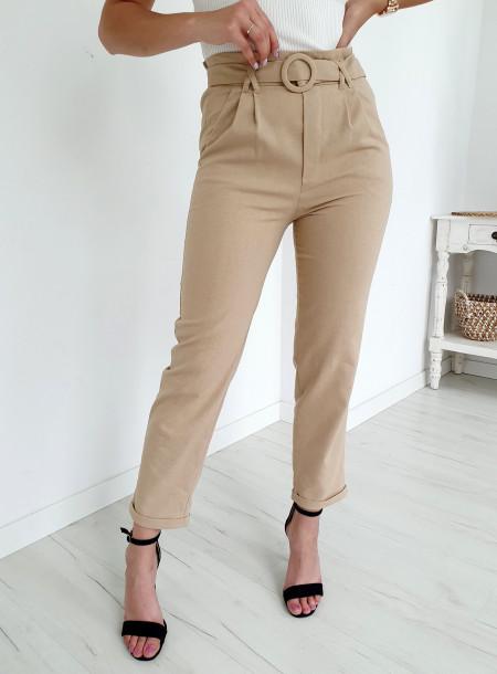 Spodnie A765 beż