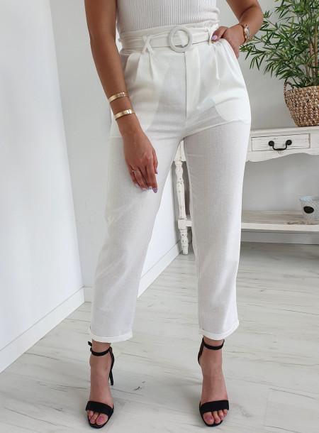 Spodnie A765 biały