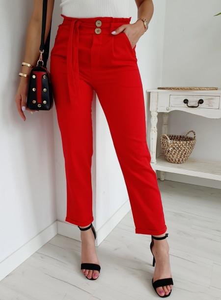 Spodnie A762 czerwony