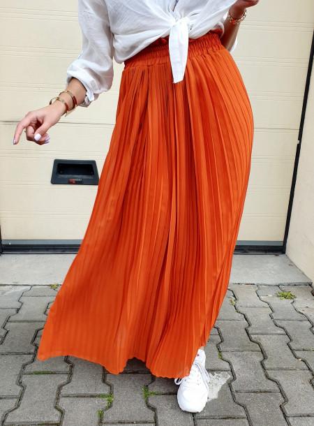 Spódnica A760 pomarańcz