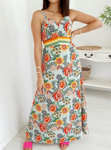 Sukienka 86984 mięta