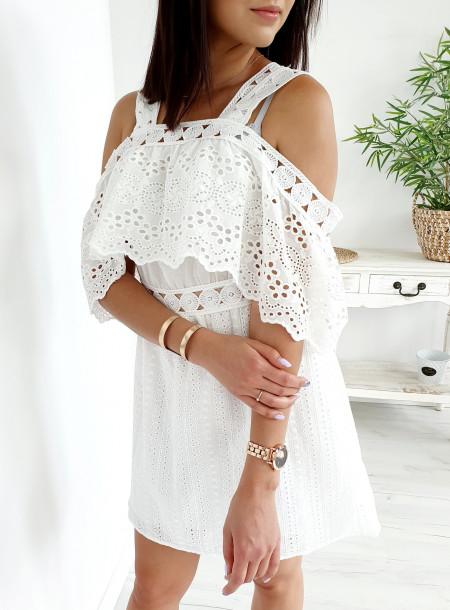 Sukienka 19035 biały