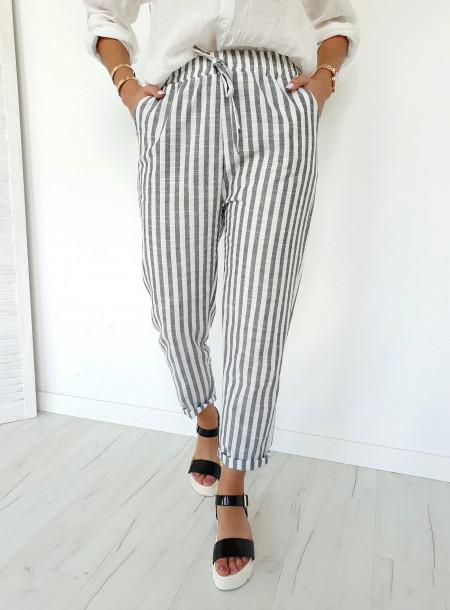Spodnie 9868 czarny