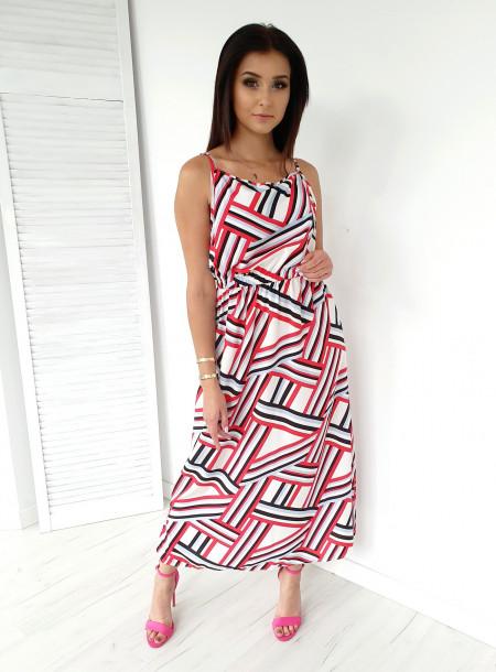 Sukienka 9623 biały