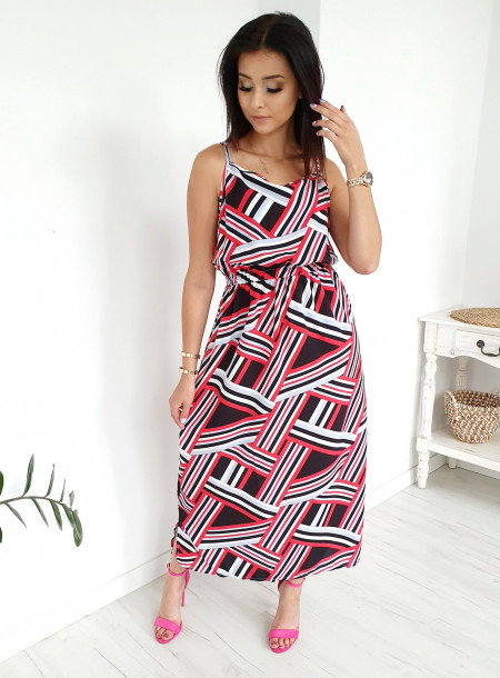Sukienka 9623 czarny