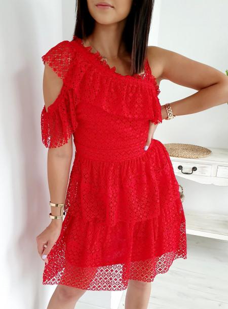 Sukienka 5121 czerwony