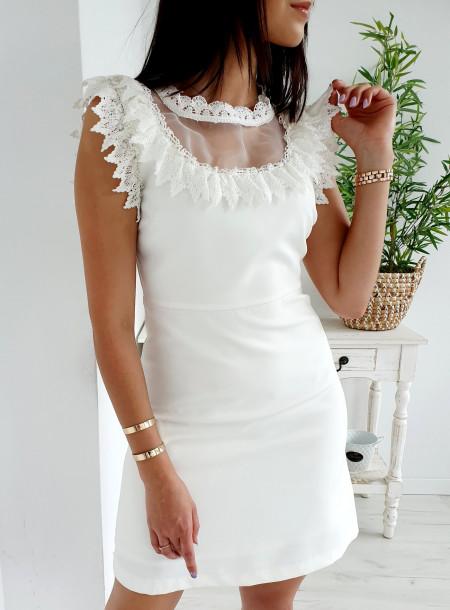 Sukienka H639 biały