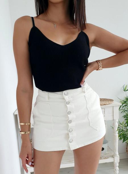Spódnico - spodenki 6657 biały