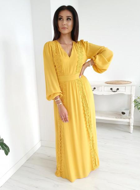 Sukienka 2155 żółty
