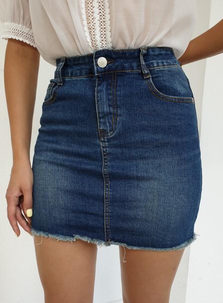 Spódnica jeans 035