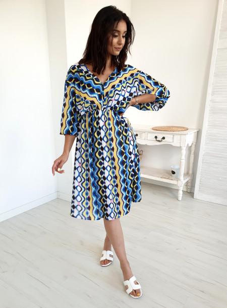 Sukienka 2049 niebieski