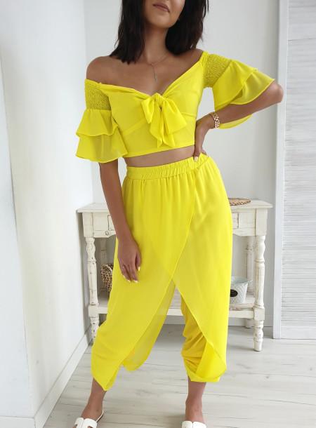 Komplet 902 żółty