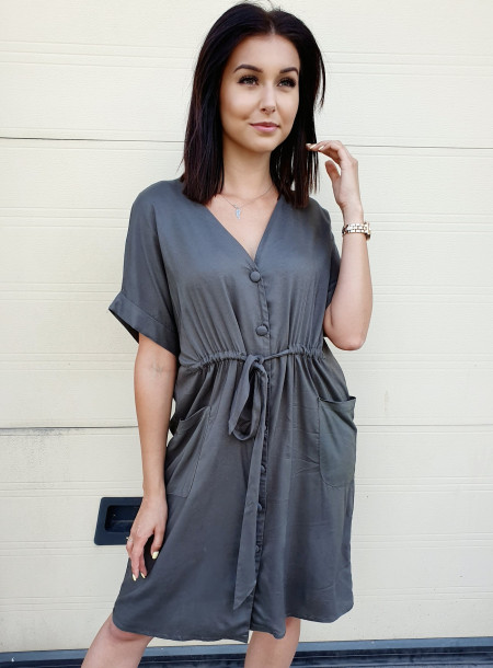 Sukienka 3071 khaki size +