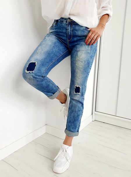 Spodnie jeans E057