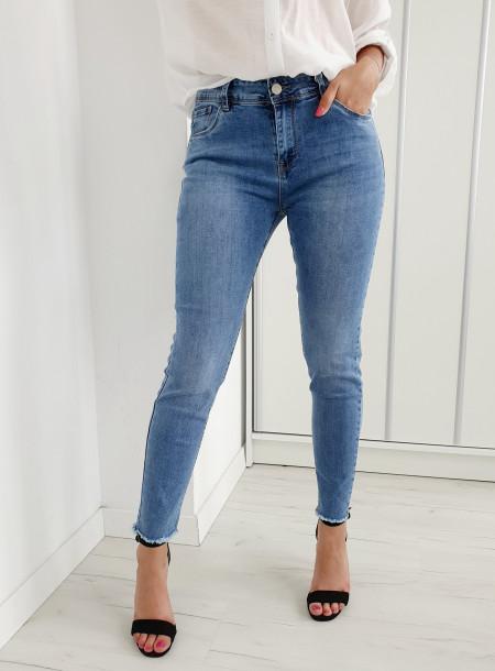 Spodnie jeans 6140 size +