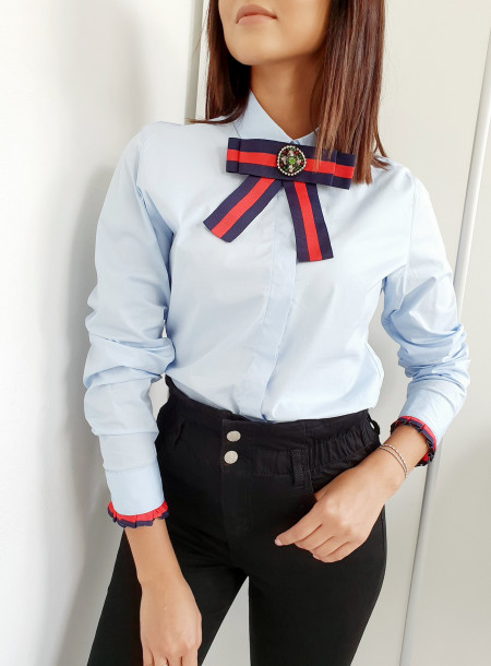 Koszula 8227 niebieski