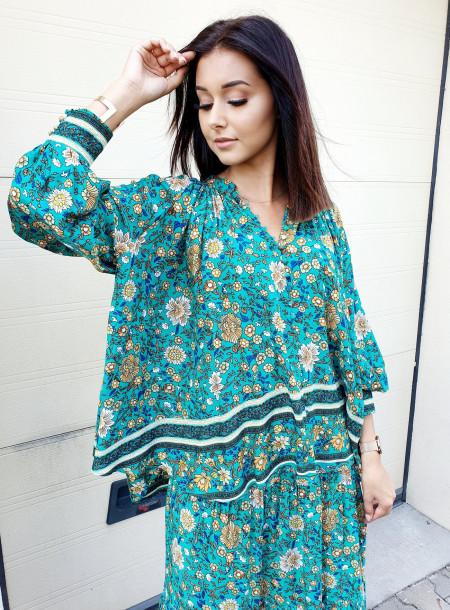 Koszula 6490 zielony