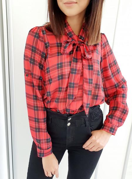 Koszula 073 czerwony