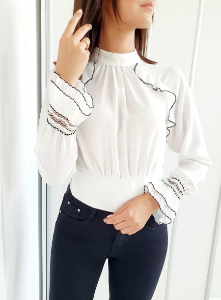 Bluzka 066 biały