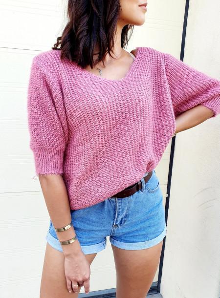 Sweter 013 jasny róż