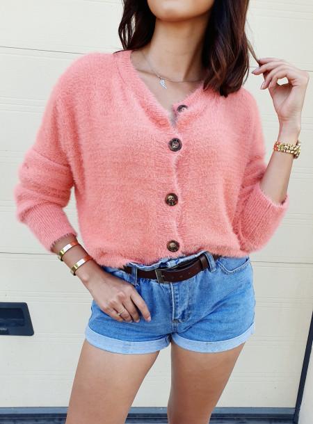 Sweter 012 róż