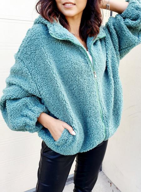 Sweter 8186 zielony