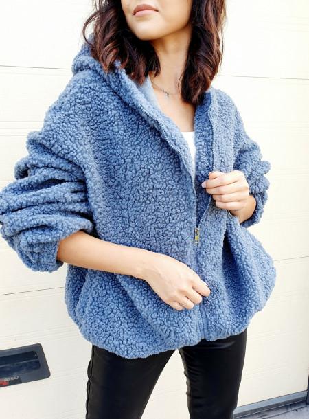 Bluza 8186 niebieski