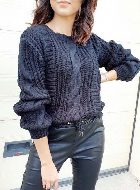 Sweter 1911 czarny