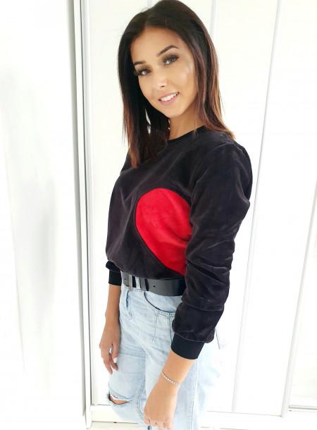 Bluza 8635 czarny
