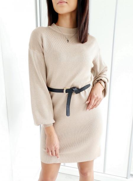 Sukienka 3057 beż