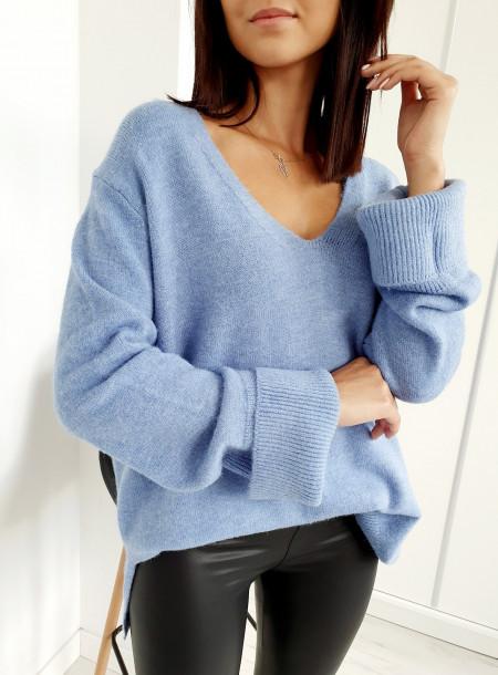 Sweter 3512 niebieski