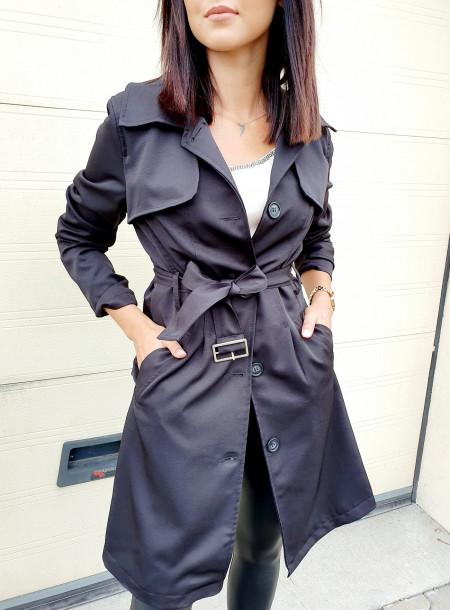Płaszcz 448 czarny
