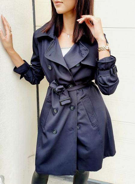 Płaszcz 449 czarny
