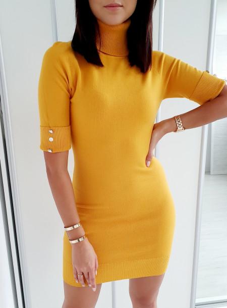 Sukienka / tunika 8182 żółty