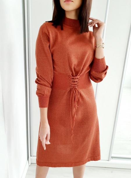 Sukienka 5507 rudy