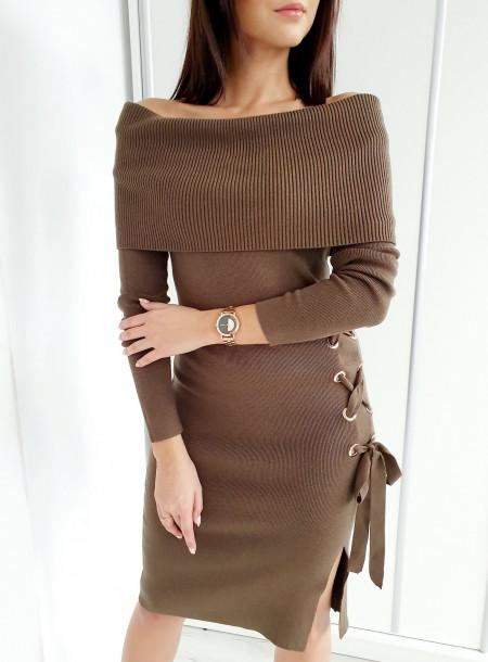 Sukienka 5845 khaki