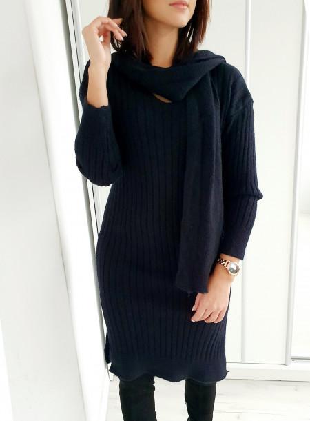 Sukienka A05 czarny