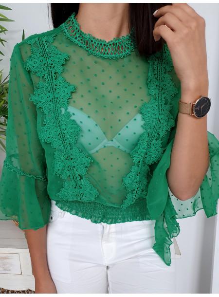 Bluzka 5466 zielony