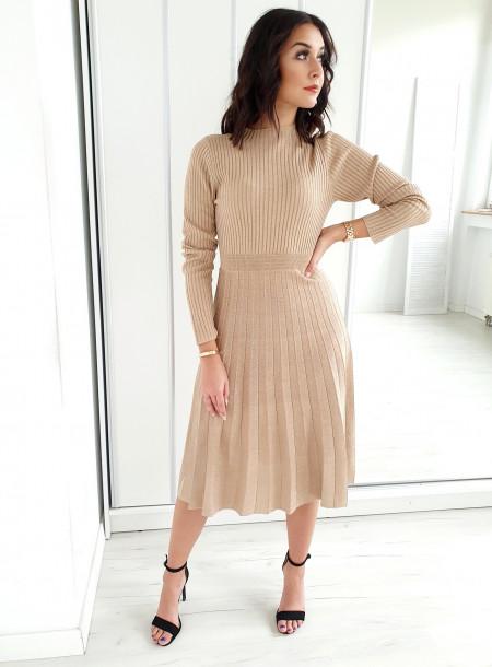 Sukienka 5071 beż