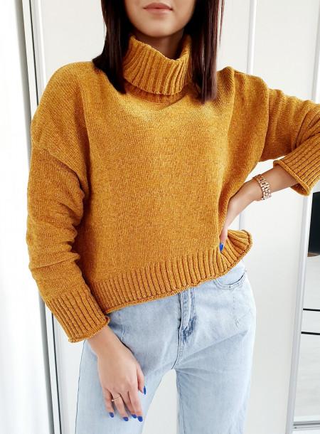 Sweter 1969 żółty